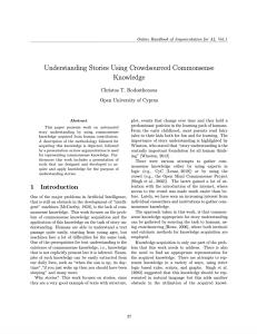 Understanding Stories Using Crowdsourced Commonsense Knowledge